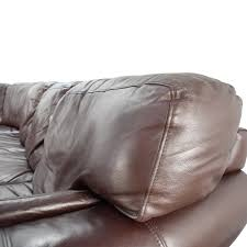 raymour and flanigan leather sofa raymour and flanigan faux leather sofa image of brown raymour and