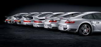 porsche turbo 911 generationen des porsche 911 turbo u0027s