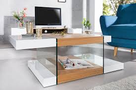 Table Verre Pied Central by Table Basse Design Et Meubles De Salon Royale Deco