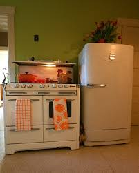 retro small kitchen appliances kitchen appliances vinatge white refrigerator and freestanding