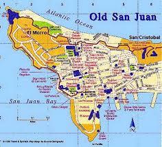 san juan map journey the san juan area