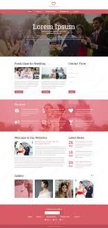 wedding planner website wedding planner psd website template webbytemplates