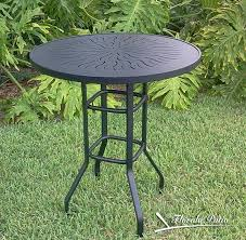 aluminum patio end table u2013 r 18punch u2013 florida patio outdoor