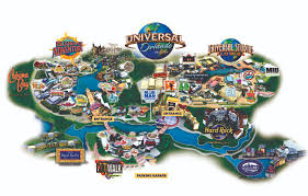 Universal Orlando Map Beach Resort Universal Beach Resort