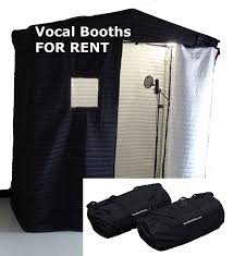 rent a photo booth acoustic vocal booth 6x3 rental vocal booth rentals