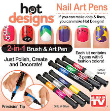 amazon com designs nail art pens combo set basic beauty