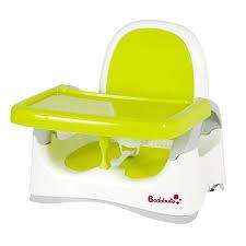 siège de table pour bébé badabulle réhausseur de table évolutif blanc vert achat vente