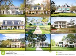 Southern Style House 19 Southern Style Homes Large American Homes Collage