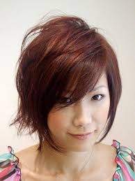 layered hair around face short hairstyles and cuts asian short haircuts for women with