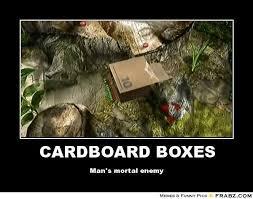 Cardboard Box Meme - cardboard box meme 28 images solid snake azn badger s blog