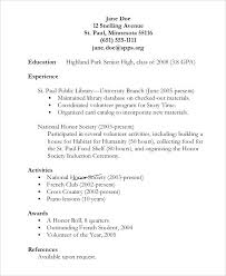 canadian high student resume exles high student resume exles cliffordsphotography com