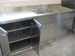 commercial kitchen cabinets stainless steel stainless steel commercial kitchen cabinet doors open cool