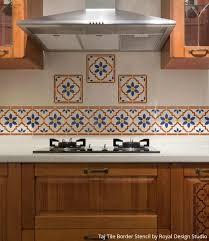 kitchen stencils designs elegant kitchen stencil designs stencils living sycamore wall art