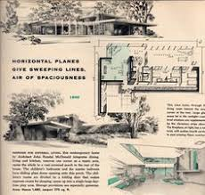 Mid Century House Plans Mid Century Modern House Plans 1950 Modern Ranch Style House
