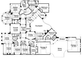 luxury house plans one story 6 bedroom luxury house plans homes floor plans