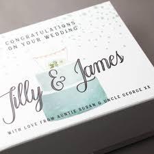 wedding gift keepsake box personalised wedding gift keepsake box by lou brown designs