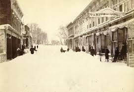 Worst Blizzard In History by Recent Snowstorm Recalls The Biggest Blizzard Of Them All The