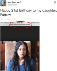 Awkward Black Kid Meme - phone shows search term used to find picture of mia farrow s