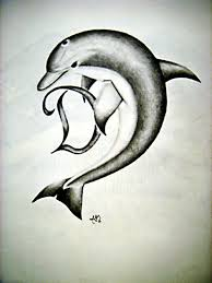 25 best dolphin tattoo drawings images on pinterest tattoo