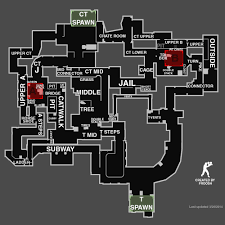 dust map cs go map callouts overviews for competitive maps