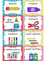Preschool Classroom Floor Plans Free Labels For Classroom Supplies Getting Ready For Back To
