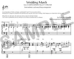 wedding march sylvia woods harp center classical books pdfs mendelssohn s