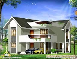 Sqft To Sqmeter Top Duplex Homes On Duplex House Elevation 2379 Sq Ft 221 Sq M 264