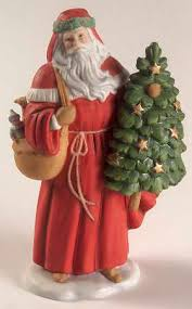 lenox annual santa figurine at replacements ltd