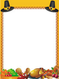 Thanksgiving Borders Clip Great For Thanksgiving This Free Printable Orange Border Is