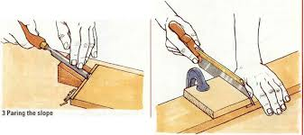 using a router plane machine cut joint woodworking archive