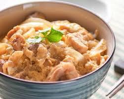 recette cuisine japonaise facile recette oyakodon bol de riz et poulet aux oeufs japonais facile