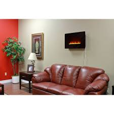 Wall Mount Fireplaces In Bedroom Muskoka Mh25bl Corrida Wall Mount Fireplace Walmart Com