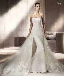 robe de mariã e printemps robe de mariage fourreau avec traîne pronovias collection