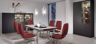 cheap red dining table and chairs modern dining rooms