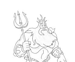 king triton coloring pages door decorations ec tritons