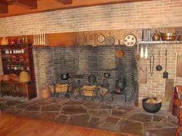 walk in fireplace binhminh decoration
