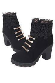 buy boots singapore buy high heels platform ankle black or half boots