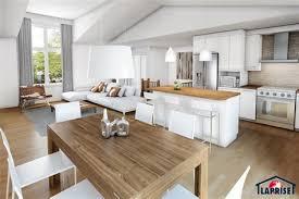 salon cuisine aire ouverte salon et cuisine aire ouverte 7 ch234tre bordure de lac chalet