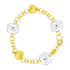 orori jewellery gelang emas emas kuning pink atau putih orori