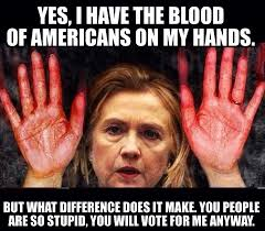 Benghazi Meme - hillary clinton lies bloviating zeppelin make america great