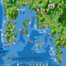 Phuket Map Krabi Koh Phi Phi Map Morgan Takes Thailand Pinterest Krabi