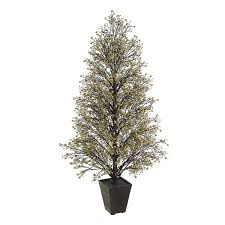 shop northlight allstate floral and craft 4 25 ft slim artificial