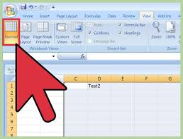 How To Do Excel Spreadsheets How To Insert A Page Break In An Excel Worksheet 11 Steps