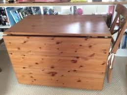 ANTIQUE SOLID OAK BARLEY TWIST OVAL GATE LEG DROP LEAF DINING - Ikea leksvik drop leaf dining table