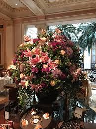 Hotel Flower Decoration Floral Arrangement At The Winter Garden Picture Of Hotel Grande