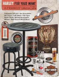 Harley Home Decor by Harley Davidson Roadhouse Collection Fall 2014 Catalog Dealer