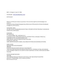Sample Resume For Oil Field Worker Kris Duke Resume