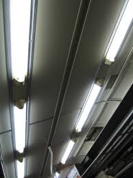 overhead lighting light fluorescent