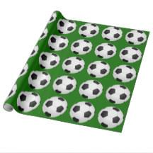 soccer wrapping paper soccer wrapping paper zazzle