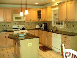 Yellow Kitchen Walls With Oak Cabinets by Bathroom Cute Best Paint Color For Kitchen Oak Cabinets All One